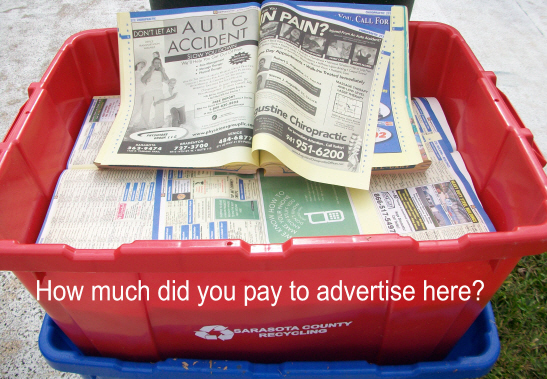 Are your yellow pages ads ending up in the recycling bin?