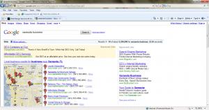google 3rd column IE